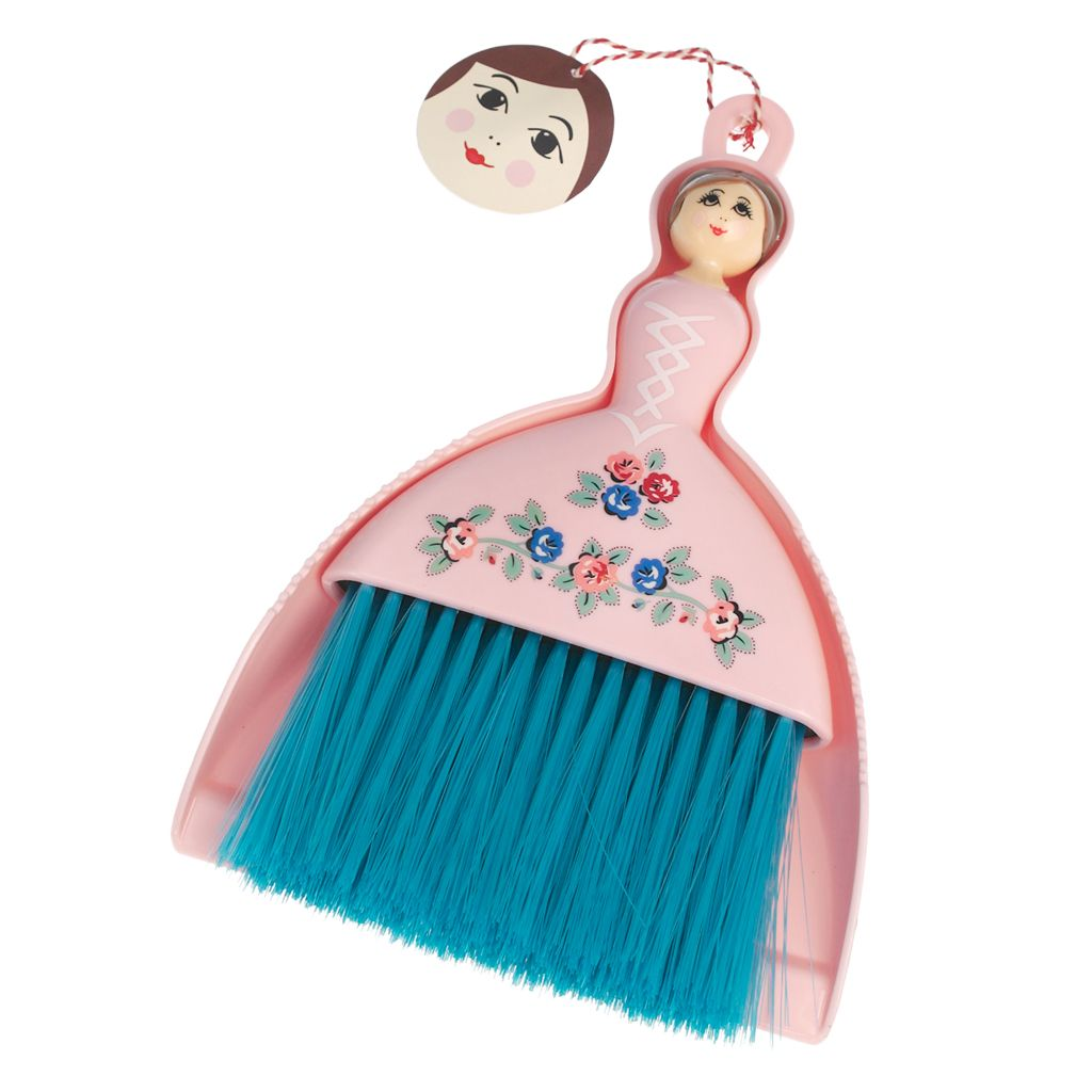 Pink Dolly Dustpan And Brush   DotComGiftShop £5.95   pretty things ...