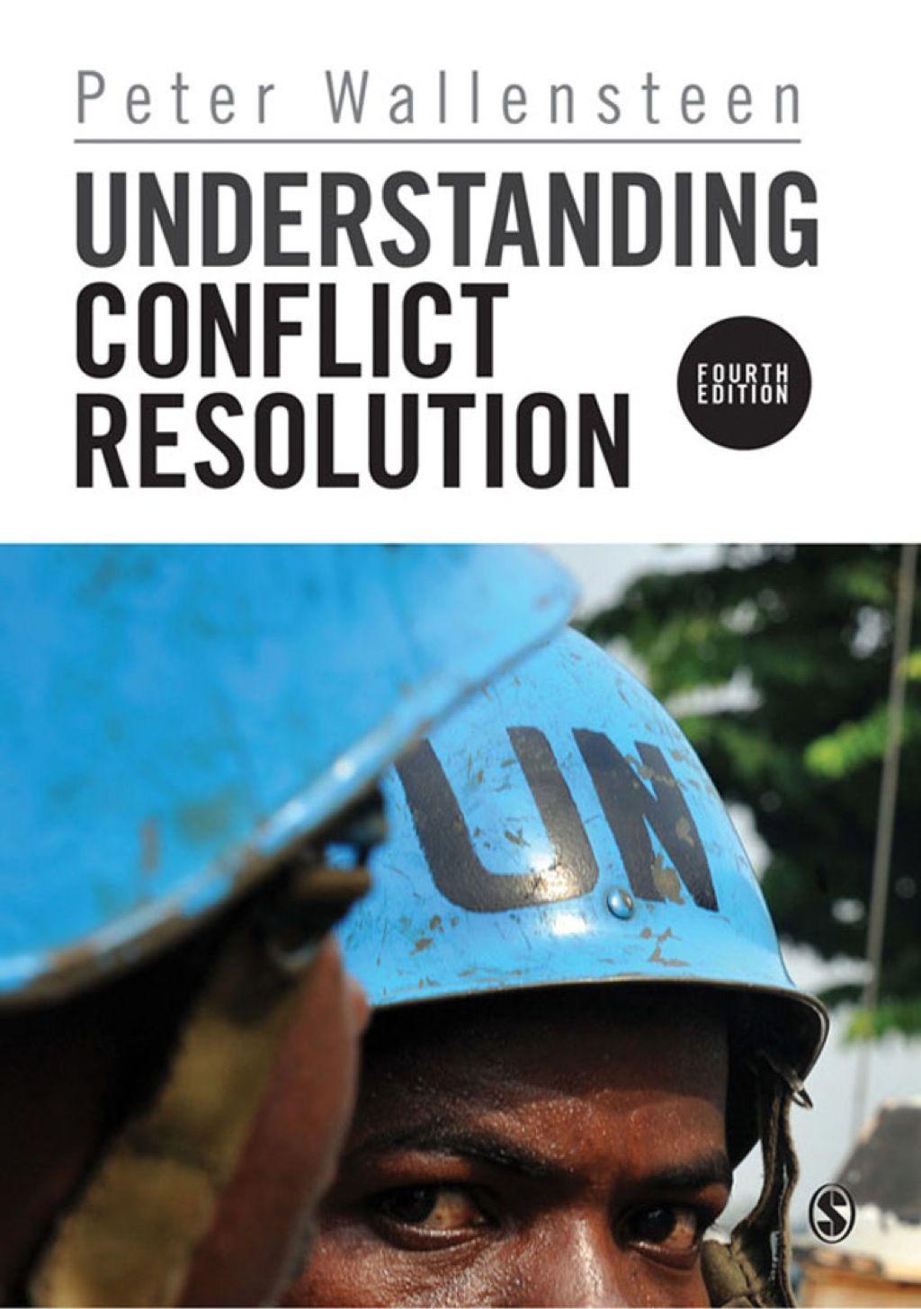 Understanding Conflict Resolution Ebook In