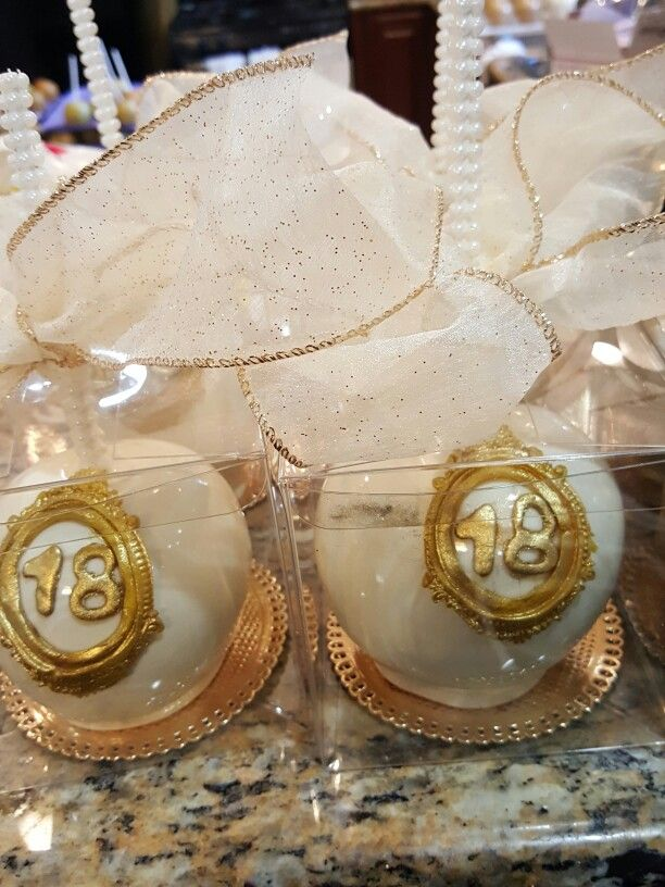 White/gold candy apples @one_skinny_baker | Candy apples ...