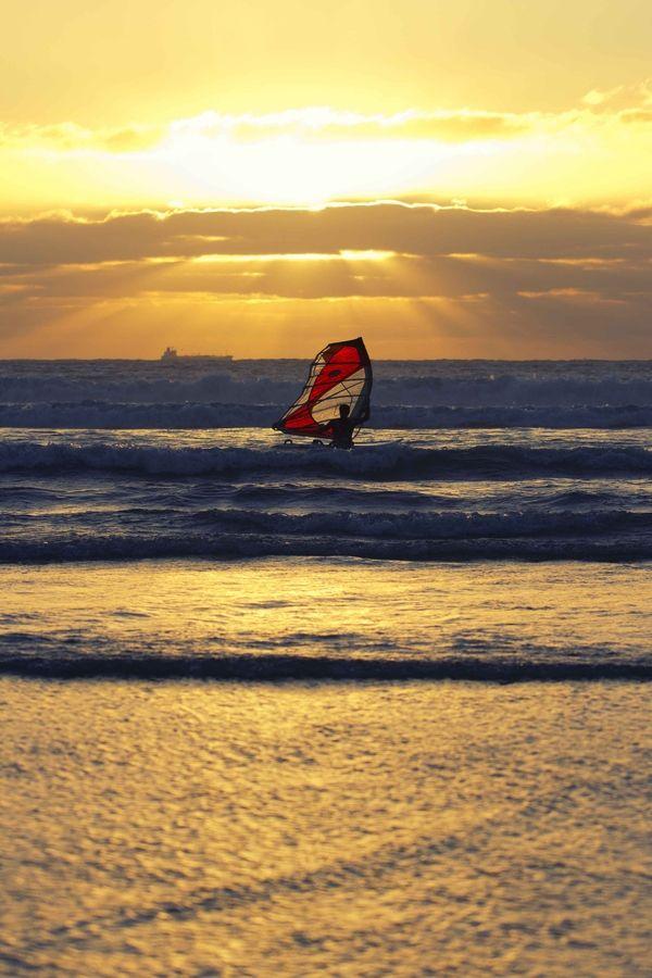 Sunset Windsurf #Beach Dreaming #AccorVacation