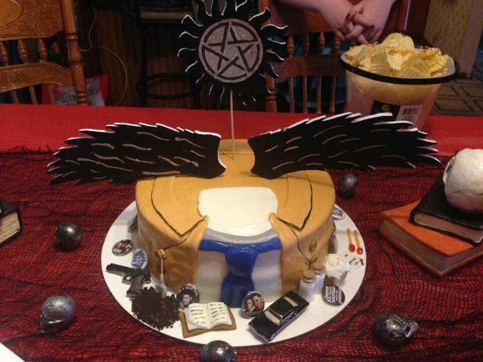 Supernatural birthday cake … | Supernatural cake ...