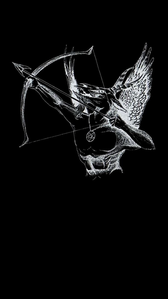 Metal Phone Wallpapers Android 1080x1920 Fallen Angel Black Metal Art Metal Albums