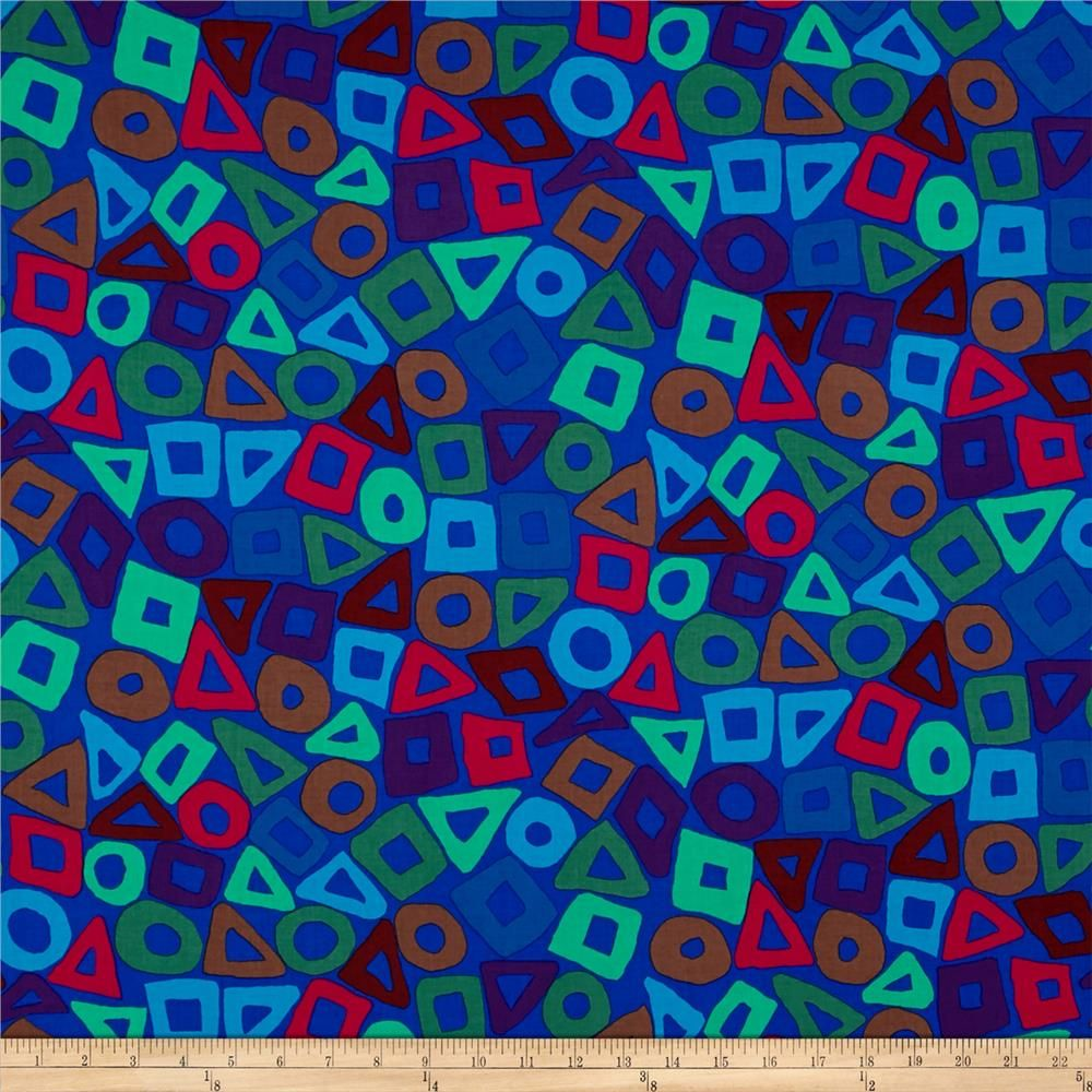 Brandon Mably Puzzle Cobalt From Fabricdotcom Designed By Brandon