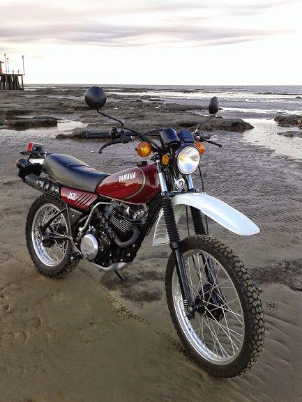 Yamaha Xt 250 1981 Today Enduro Motorcycle Motocross Bikes Custom Bikes Cafe Racers