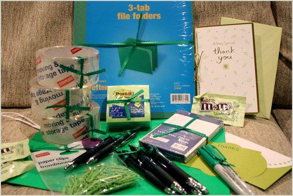 idea office supplies. Office Gift Idea - Supplies For Friend\u0027s New Job Or Farewell