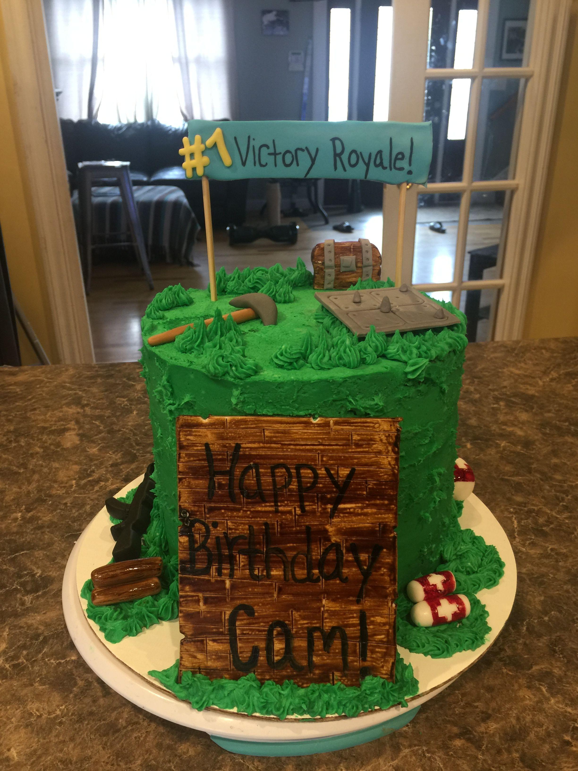 Fortnite Cake Cool Birthday Cakes Birthday Cakes For
