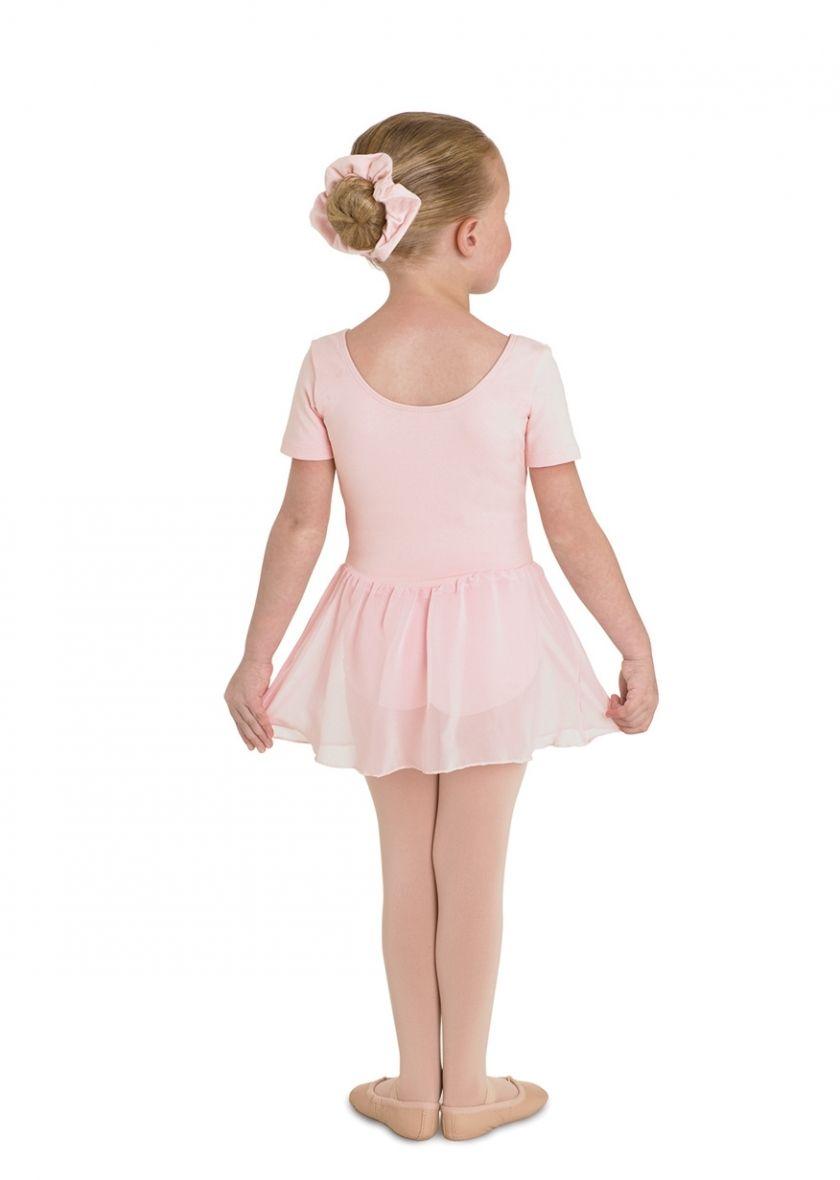 4725035ef Bloch Tiffany Short Sleeve Skirted Leotard