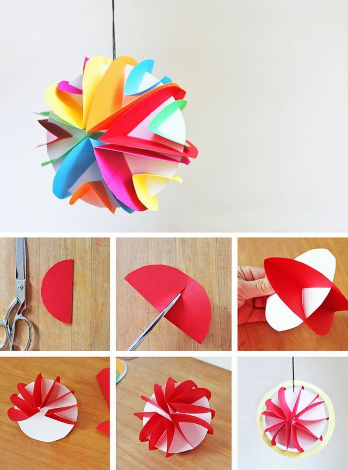 Easy Planet Craft For Kids 3d Paper Planets Art Projects Planet