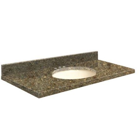 Transolid Quartz 25 Inch X 19 Bathroom Vanity Top With Eased Edge 8