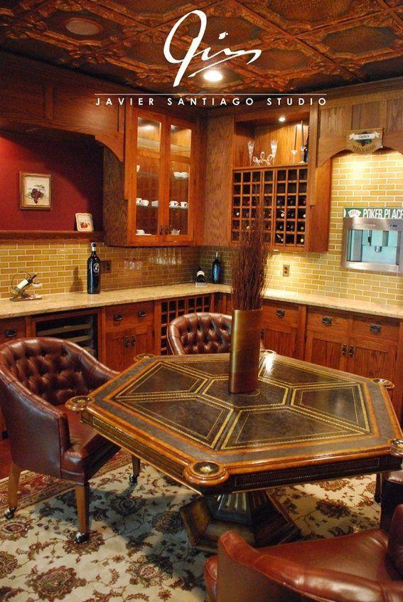 Mens Poker Room Poker Room Wine Cellar New House