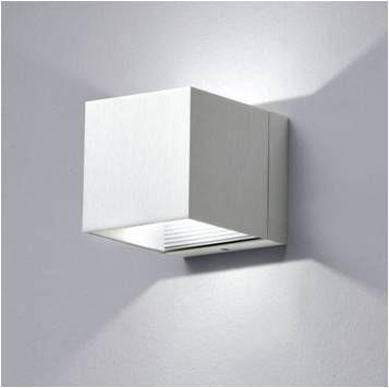 Aplique led de pared milan apliques y l mparas de pared wall lamps pinterest apliques - Apliques exterior led ...