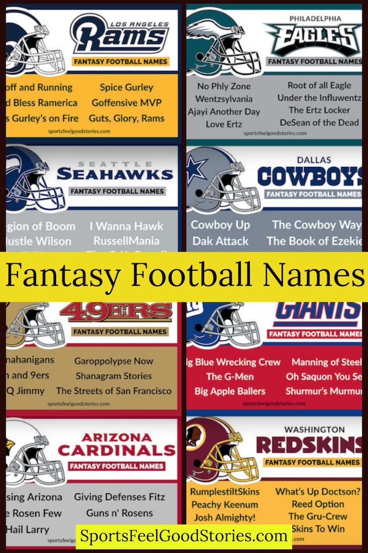 Good Fantasy Soccer Names