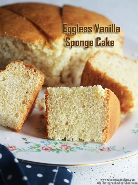 Eggless Vanilla Cake Recipe Vanilla Cake Recipe With Condensed Milk Recipe Eggless Vanilla Cake Recipe Eggless Cake Recipe Condensed Milk Recipes