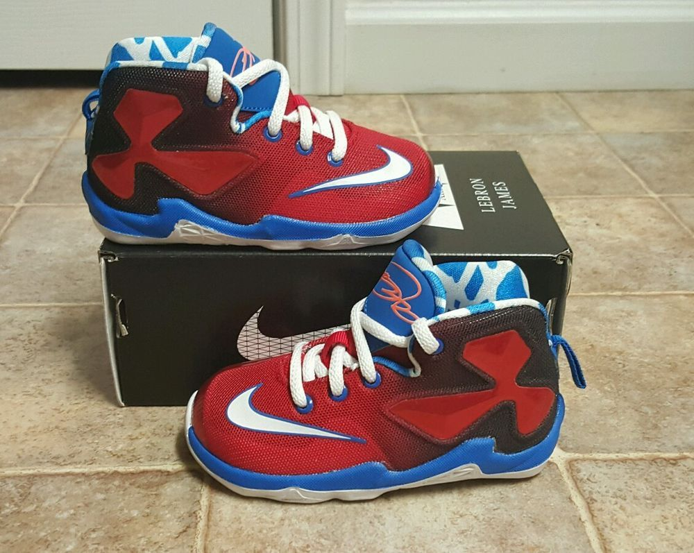 e338ae3c4070  nike lebron xiii 13  shoes  toddler sz 7c new!! 808711-614 (td) from  51.99
