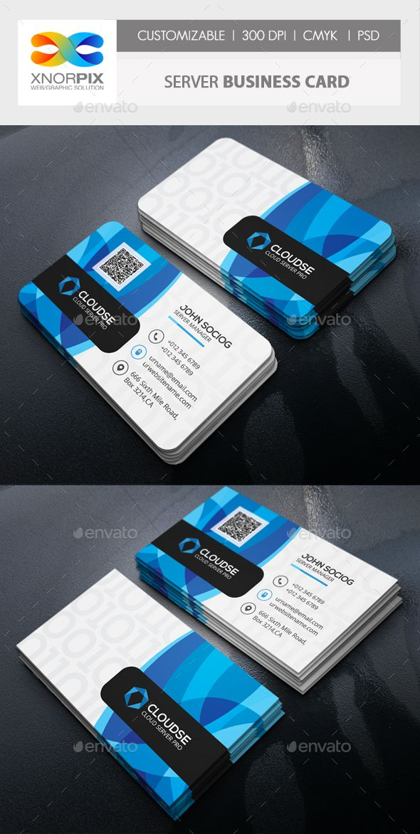 Server business card business cards card templates and business server business card photoshop psd corporate database available here httpsgraphicriveritemserver business card17733740refpxcr reheart Images