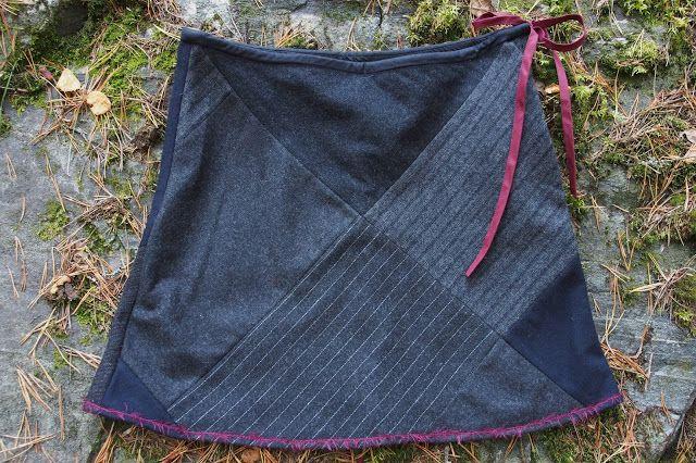 Vaateviidakko: Palaprojekti - hameita pienistä kangaspaloista