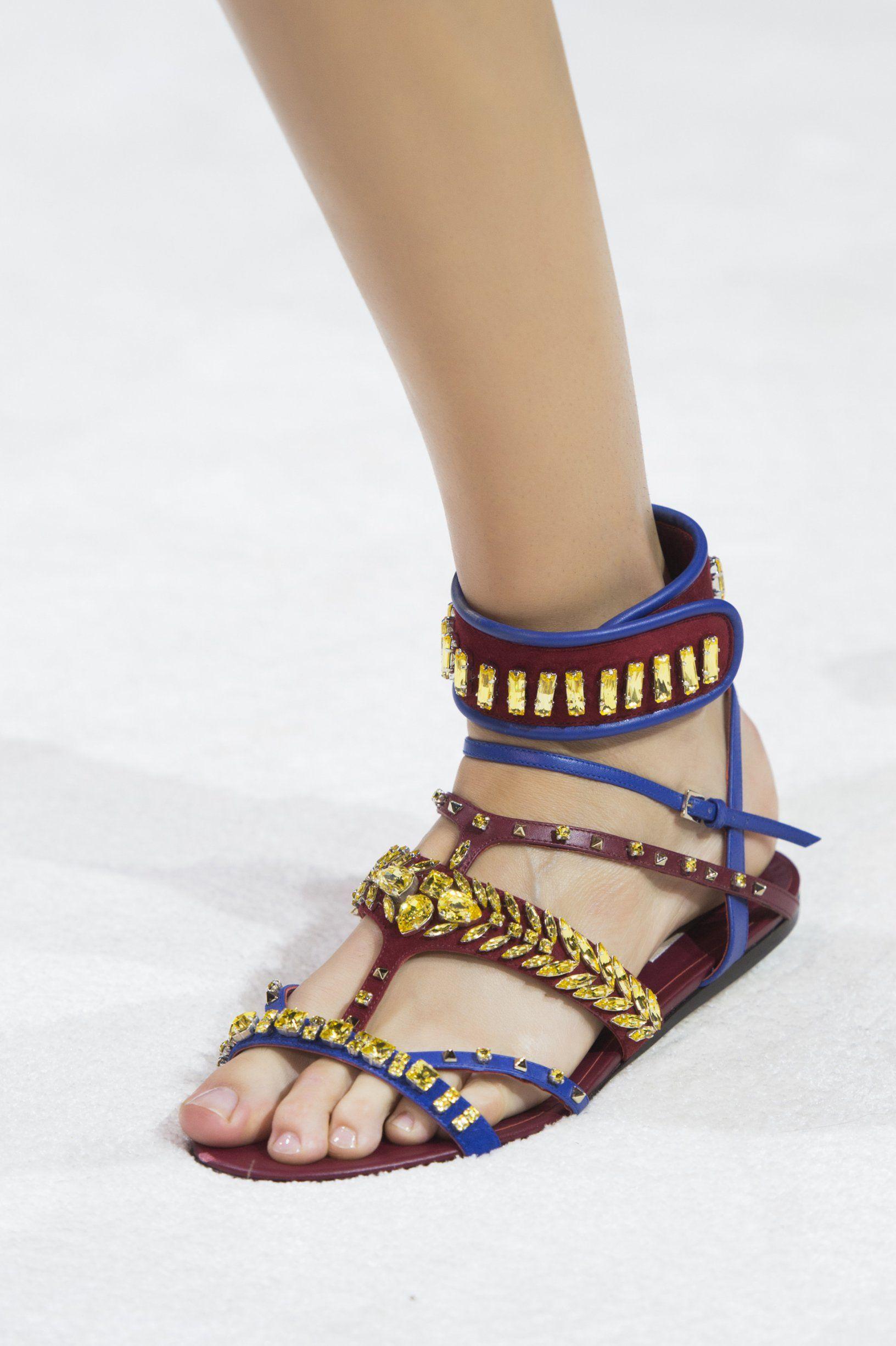Sandales Avec Bande Cheville Printemps / Été Miu Miu oj5HHAys