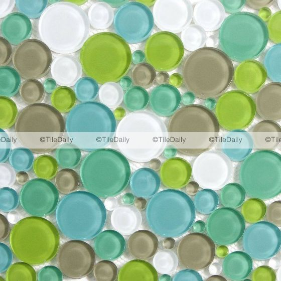 Bubble Glass Mosaic Bubble Glass Mosaic Tiles Mosaic Glass