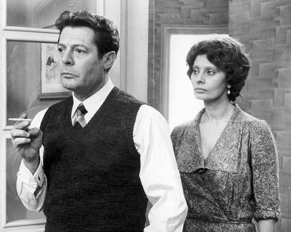 """'A Special Day' (1977) Sophia Loren costars with Marcello Mastroianni, left, in Ettore Scola's """"A Special Day."""" Mastroianni was nominated for a best actor Oscar for the role. The film won a Golden Globe for best foreign language film."""