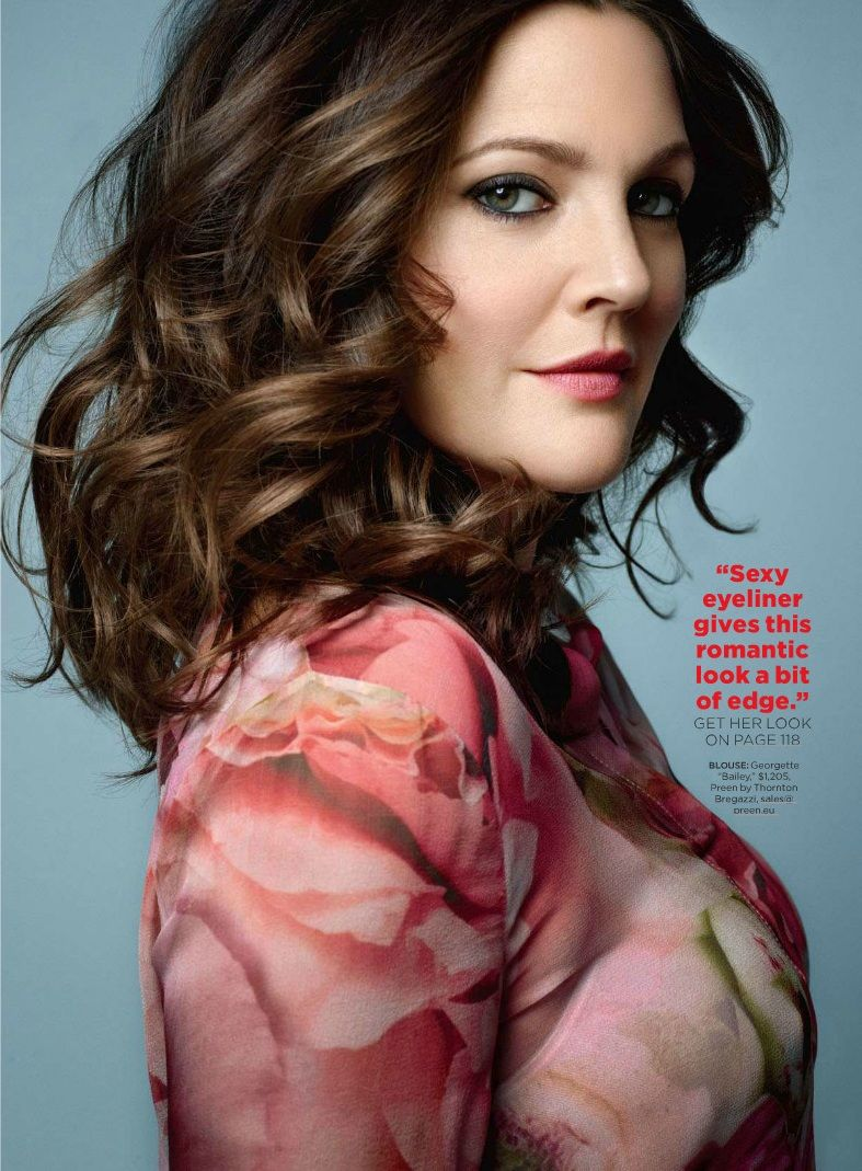 Drew Barrymore August 2013 Drew Barrymore by Pegg...
