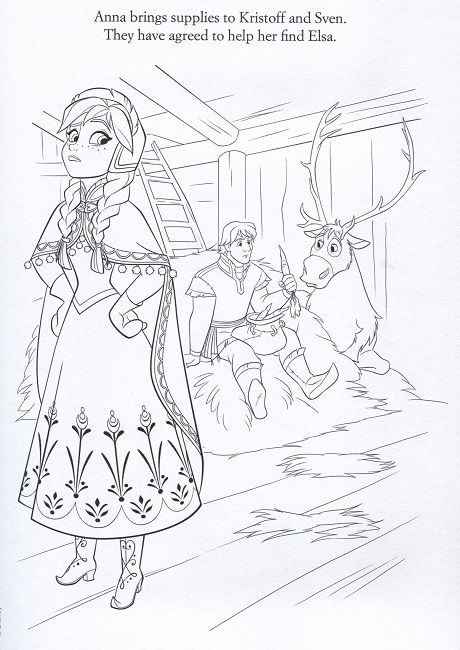 Frozen Let It Go Coloring Page Dengan Gambar Gambar