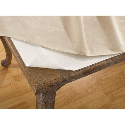 Wayfair Basics Wayfair Basics Cushioned Table Pad Dining Table In Kitchen Table Table Linens
