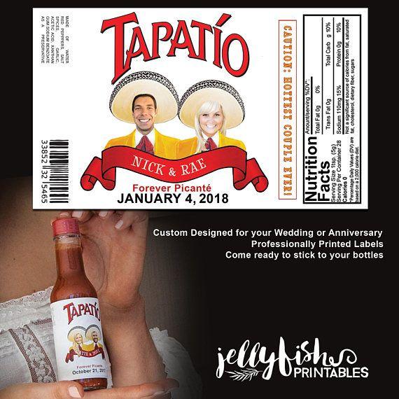 Custom Tapatio Labels