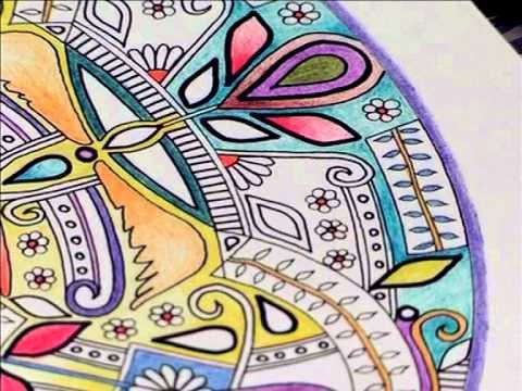Art Therapy Colouring Books For Adults