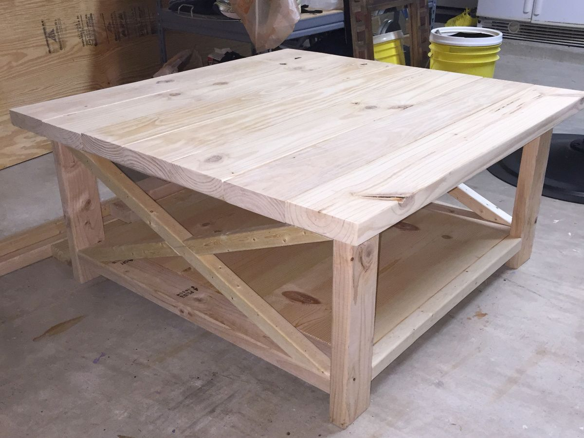 Diy rustic coffee table with images diy farmhouse