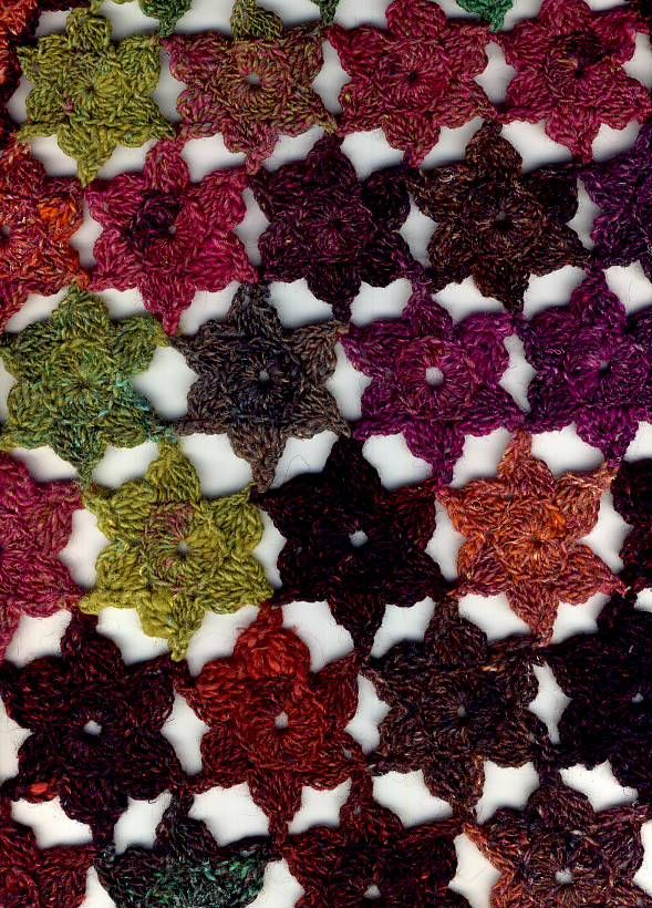 Sophie Gelfi Tissus Patchwork livres patchwork Discount :: 2. Etole châle crochet explications en français