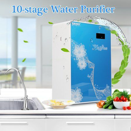 Grtsunsea 10 Stage Home Undersink Alkaline Reverse Osmosis Ro Water Filter System Faucet Mounted Filtration Water Filter Faucet Inline Water Filter
