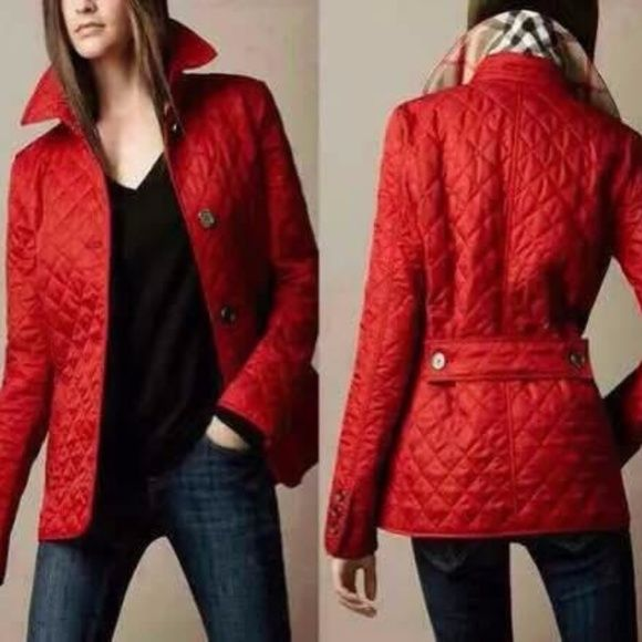 a219c34845b Burberry Jackets   Blazers - NWT AUTH BURBERRY WOMEN S FRANKBY QUILTED  JACKET