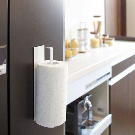 magnetic kitchen paper towel holder tower functional design pinterest paper towel. Black Bedroom Furniture Sets. Home Design Ideas