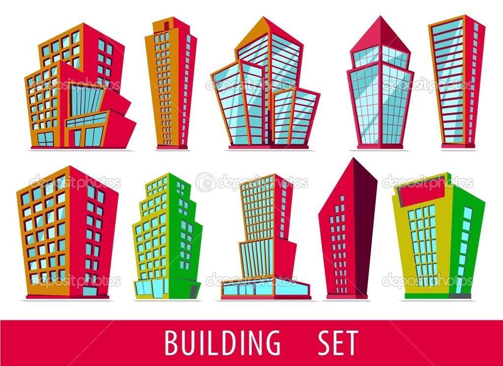 Cartoon Buildings - Google Search