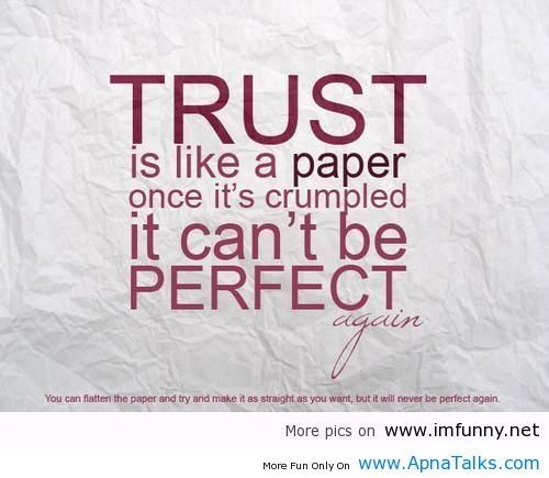 nice trust quote about nice words picture | Wise sayings ...