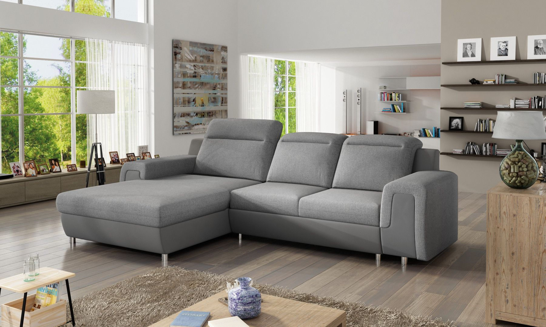 NICOLA MINI is a practical living room sofa and everybody will