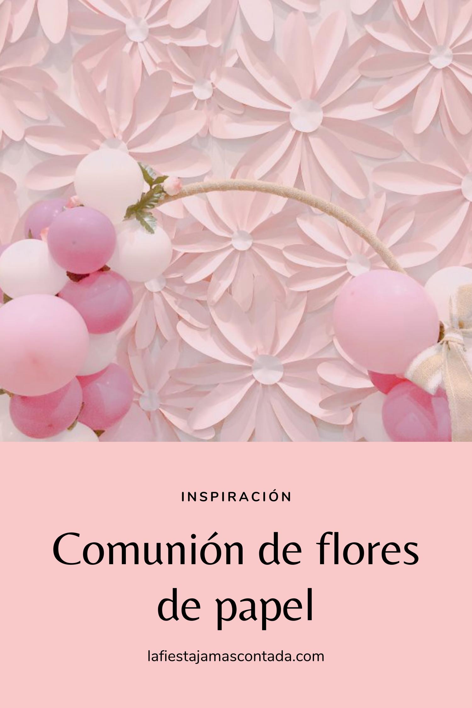 La Comunión De Flores De Papel La Fiesta Jamás Contada Sobres De Papel Flores De Papel Libros De Comunion