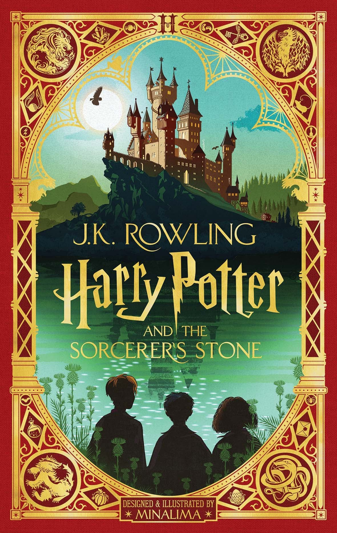 A new illustrated edition of harry potter and the sorcerer