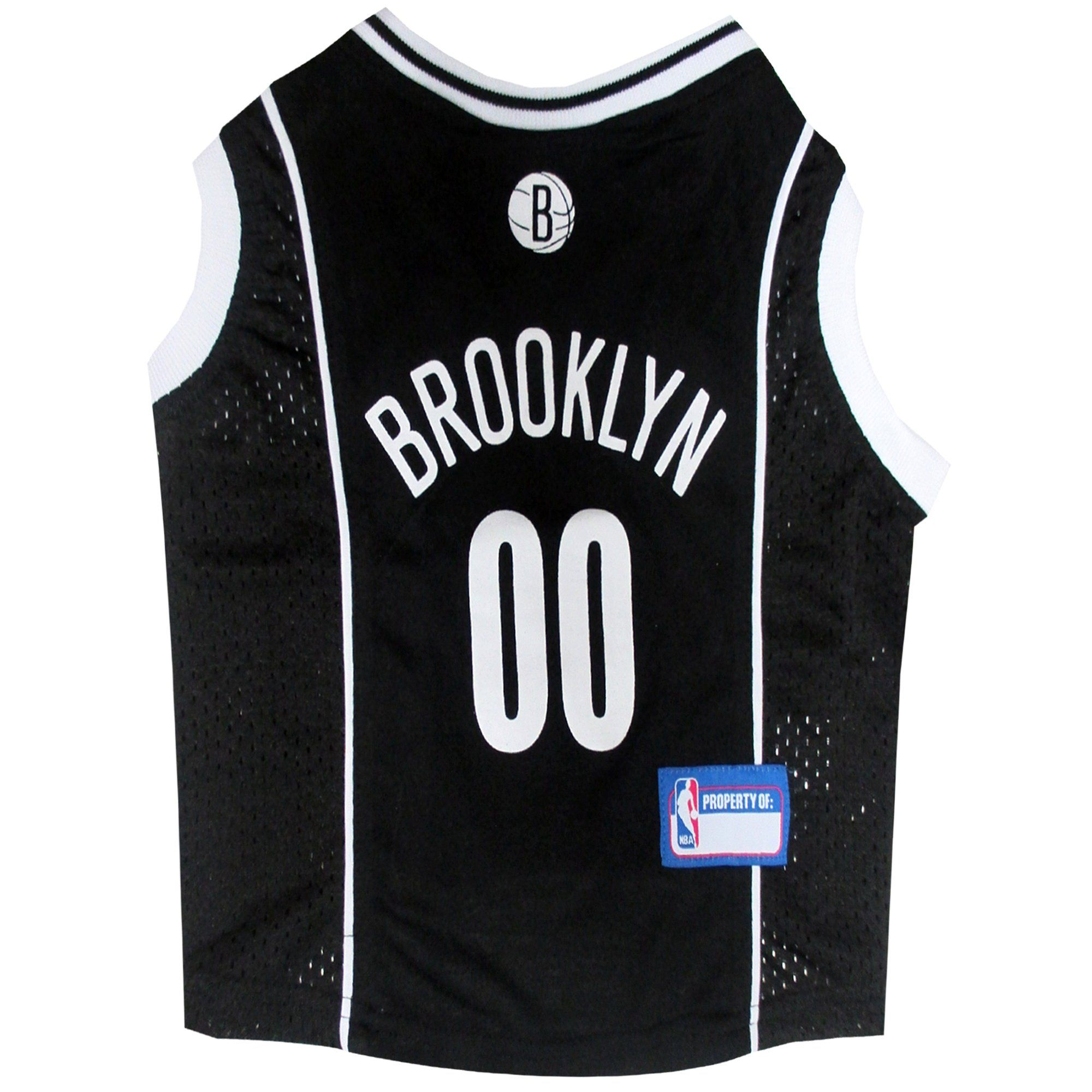 3a44be23dd2 Pets First Brooklyn Nets NBA Mesh Jersey for Dogs