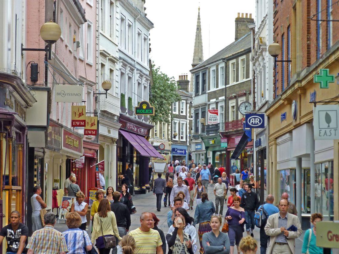 London street norwich england