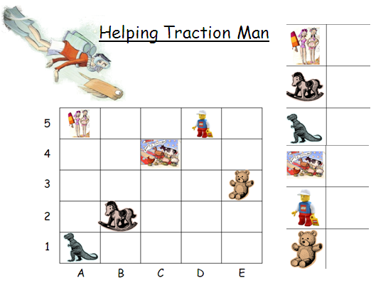 Numeracy lesson - starter activity - to recap coordinates. The ...