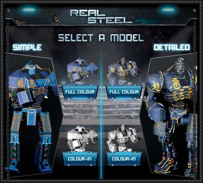 Real Steel Noisy Boy Free Robot Paper Model Download Real