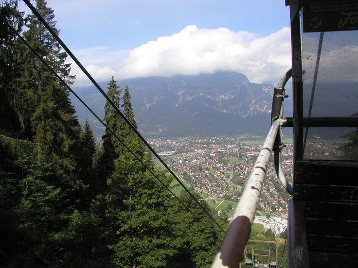 Hoch hinauf: Eckbauerbahn - Sommerurlaub in Bayern, Garmisch-Partenkirchen, Riessersee Hotel Resort