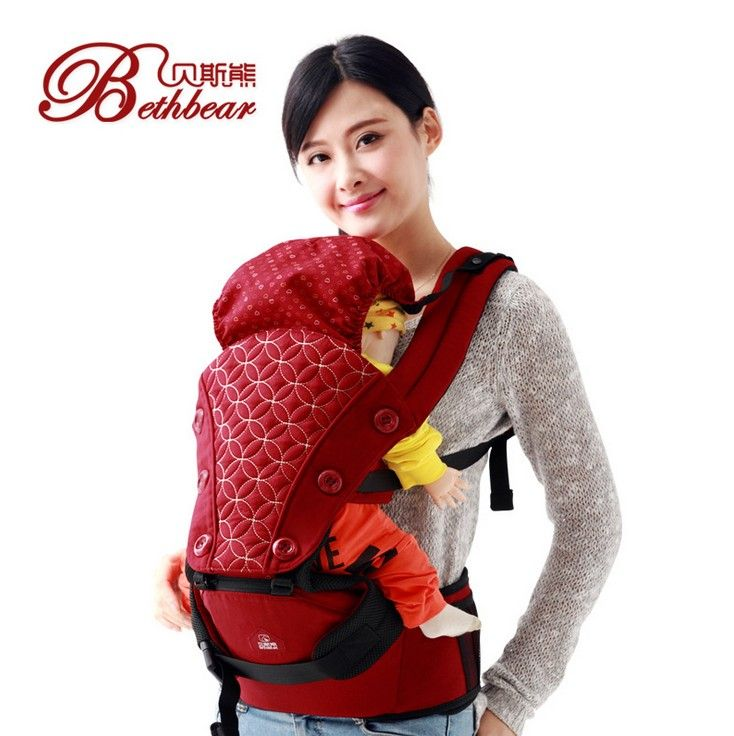 d3b73437bca 2-30 Months Breathable Multifunctional Front Facing Baby Carrier Infant  Comfortable Sling Backpack Pouch Wrap
