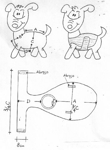 Ropa para mascotas moldes