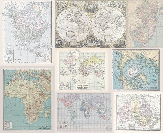 Fabric yardage instant quilt with many maps yardage of antique fabric yardage instant quilt with many maps yardage of antique and vintage world map gumiabroncs Image collections