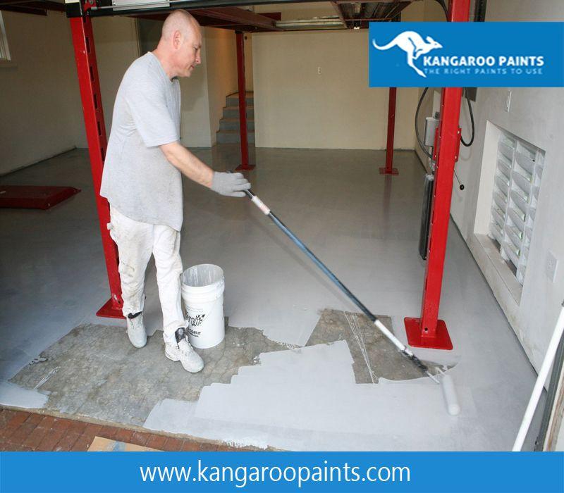 Kangaroo Paint To Draw Parking Bay Lines Arrows Numbers Lines Etc Kangaroo Epoxy Floor Coating Is Suit Garage Floor Paint Floor Coating Garage Floor Epoxy