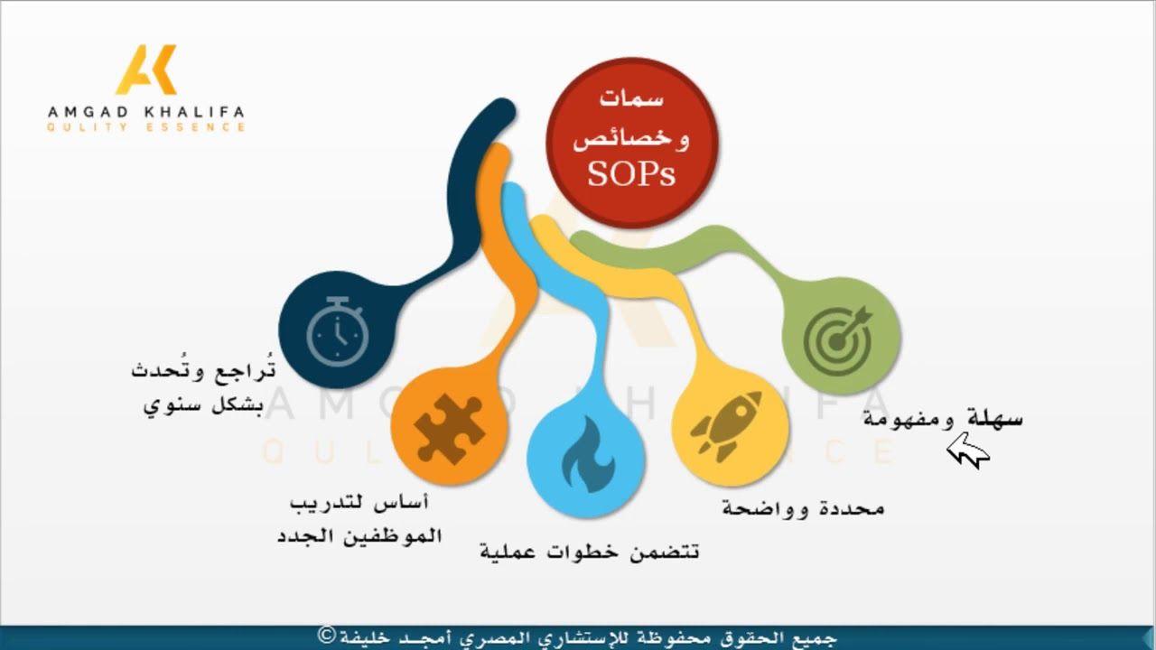 Sops Characteristics خصائص وسمات اجراءات العمل Essence