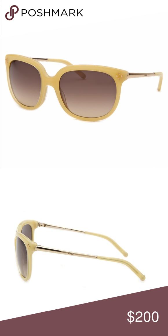 3f17cbd8a8f55 NWB Chloe Square Honey Sunglasses CE642S-771-55 New with box. Authentic  Chloe. Chloe Accessories Sunglasses