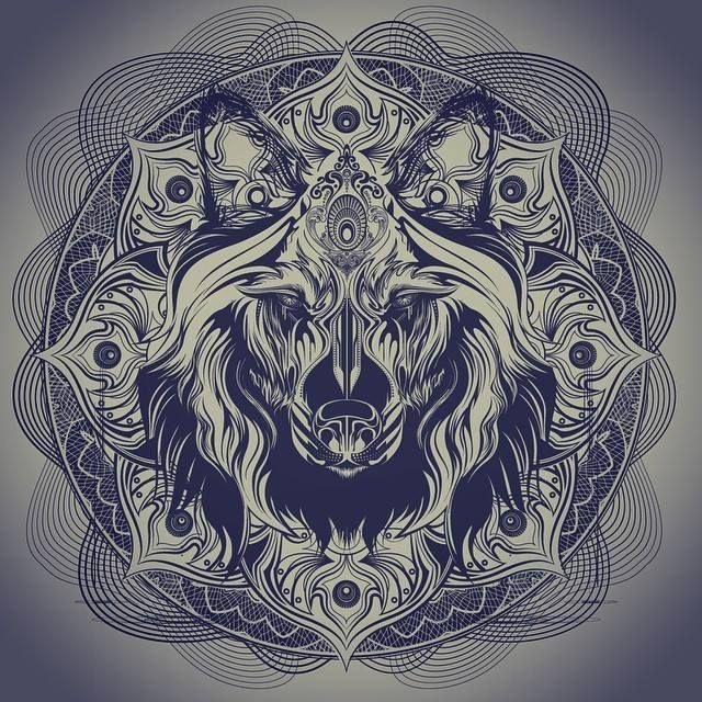 Chris Saunders Tattoos, Art, Mandala art